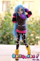 For sale Anime Custom Obitsu  ooak #09 by H--neko