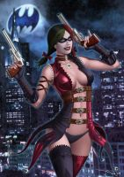 Harley Quinn Injustice by iurypadilha