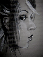 Day 9 Charcoal face by simplyfragile