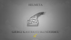 Helmeta skenderbeu 3d glass by AbizZ