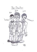 The Three Doctors by uhnevermind