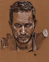 Tom Hardy Mad Max by Goassmer