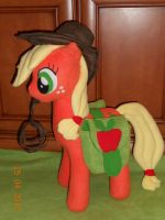 Applejack Custom Plush My Little Pony by agatrix