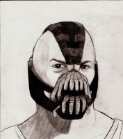 Bane sketch by SicSlipknotMaggot