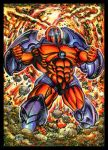 ONSLAUGHT SKETCH CARD COMMISSION by AHochrein2010