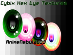 Cybix Hex Eye Texture - AN003 by AnimeNebula003