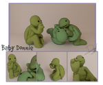 Blender +Baby Leo, Raph and Donnie+ by Blaze-Bernatt