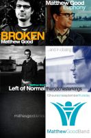 Matthew Good Album covers by rogelead