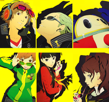 Persona 4 by AuraIan