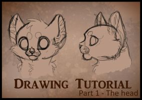 Drawing Tutorial Part1 - Head by Miosita