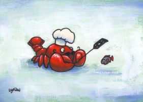 Lobster Chef by MegLyman