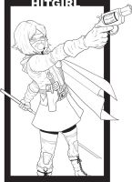 HITGIRL LINES by JOEYDES