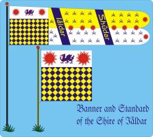Iaaldar Shire Standard and Banner by Ienkoron