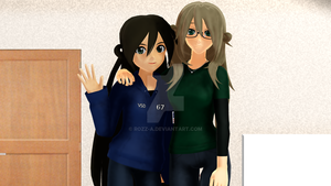 Tori And Her Mom by Rozz-a
