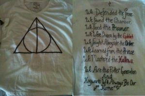 Deathly Hallows Premiere shirt by bearsbeetsbsg