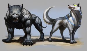 DnD4e: Hounds by UdonCrew