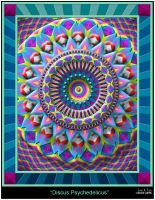 Discus Psychedelicus by eccoarts