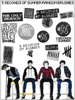 |5 SECONDS OF SUMMER RANDOM BRUSHES| by NeverStopBelieve