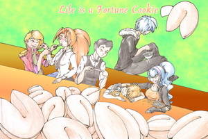 Fragments - Life is a Fortune Cookie by Rena-Circa