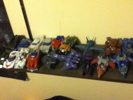 Transformers set 3: 2 Photos left by Dield