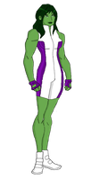She-Hulk by jsenior