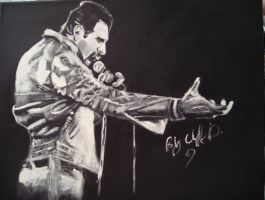 freddie mercury my painting by cliford417