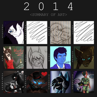 A Year Of Art by isolato