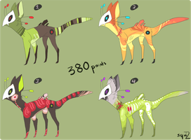 Points adoptables, LE GASP! (CLOSED) by Simonetry