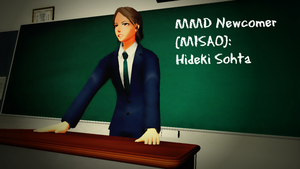 [MMDxMisao] Newcomer - Hideki Sohta by GirlScoutLin343