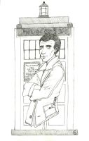 The Ninth Doctor by Yam-Cat