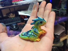 Raptor chick Mini Fig by omfgitsbutter