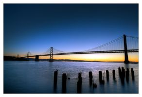 San Francisco at Dawn by Pathethic