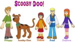 Scooby-Doo and his friends by MCsaurus