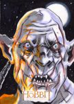 Sketch Card - The Hobbit: An Unexpected Journey 7 by KennyGordon