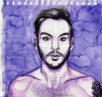 SHANNON LETO in violet by SUSI-the-FUZZYHEAD