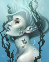 Sea creature by MeganMissfit