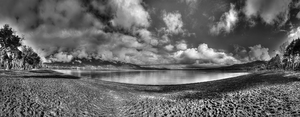 Panguipulli BW by DVHeld