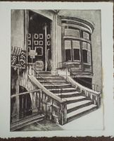 WIP 3 - Etched and Aquatint by Adrianna-Grezak