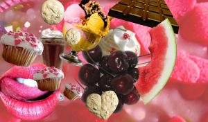 Delicious Collage by CatBeluxe