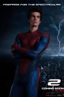 The Amazing Spider-Man 2 teaser poster by DComp