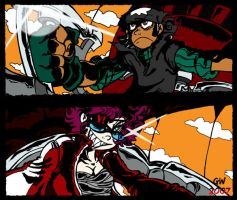 TTGL VERSUS by GreenWiggly