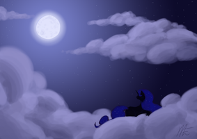 Guarding the Night by Telanore