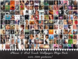 iPhone iPod Touch Wallpaper Mega Pack by Aknorbis