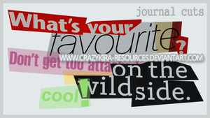 Journal Cuts by crazykira-resources