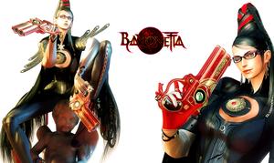 Bayonetta  sweet wallpaper by EvilMaybe