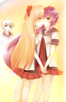Chitose's Imagination by RayCrystal