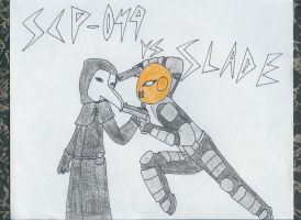 SCP-049 and Slade by FlyingShark385