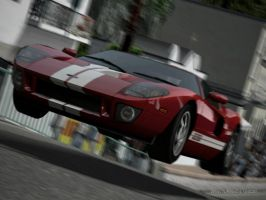 Ford GT goes Airborne by SalenStormwing