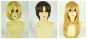 Attack On Titan cosplay wig by Mcosplay