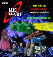 Red Dwarf Models - Series 1 by mikedaws